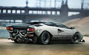 Картинка car, авто, тюнинг, автомобиль, tuning, Lamborghini Countach, Yasid Design, Yasid Oozeear