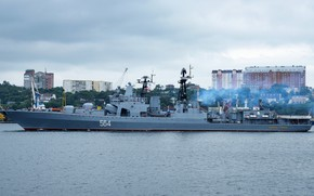 Обои вмф, большой противолодочный корабль, адмирал трибуц
