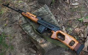 Картинка винтовка, снайперская, самозарядная, румынского производства, PSL