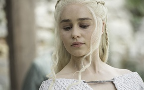 Картинка face, A Song of Ice and Fire, Game of Thrones, blonde, queen, Emilia Clarke, Daenerys …
