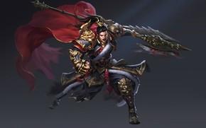 Картинка оружие, игра, меч, воин, арт, fantasy, Thánh Mobile