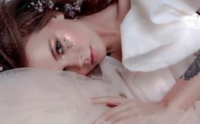 Картинка взгляд, лицо, стиль, модель, макияж, Анастасия Щеглова, Anastasiya Scheglova, Любовь Субботина