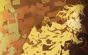 Картинка kawaii, long hair, anime, pretty, blonde, manga, japonese, Violet Evergarden