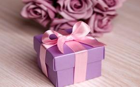 Картинка любовь, цветы, розы, love, flowers, romantic, Valentine's Day, gift, roses, violet