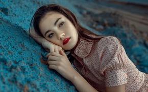 Картинка девушка, настроение, азиатка, Nakita