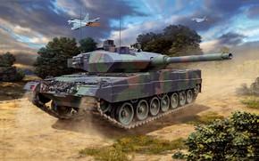 Картинка bundeswehr, Leopard 2A6/A6M, German Main Battele Tank