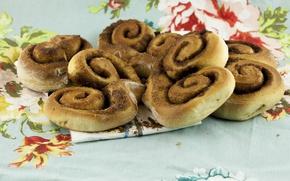 Картинка Еда, Cinnamon rolls, Рулеты из корицы