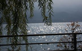 Картинка Закат, Италия, Italy, Sunset, Italia, Гардское озеро, Lake Garda, Gardasee, Озеро Гарда