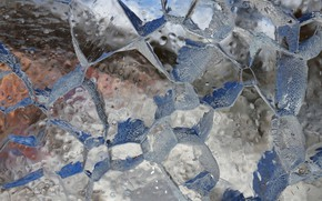 Картинка зима, макро, лёд, мороз