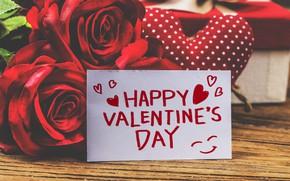 Картинка любовь, розы, сердца, love, день валентина, hearts