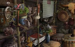Картинка games illustration, HOPA, ticathrow headogun, wigwam ho