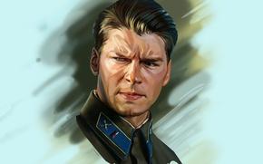 Картинка портрет, арт, актёр, Даниил Александрович Страхов, Даниил Страхов