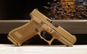 Обои пистолет, FI G19X, макро