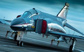 Картинка аэродром, Phantom II, McDonnell Douglas