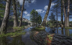 Картинка озеро, Корсика, Corsica