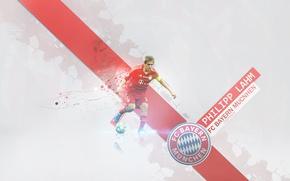 Картинка wallpaper, sport, football, player, FC Bayern Munchen, Philipp Lahm