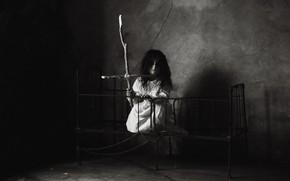 Картинка комната, девочка, angel of death