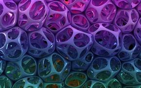 Картинка фиолетовый, абстракция, узор