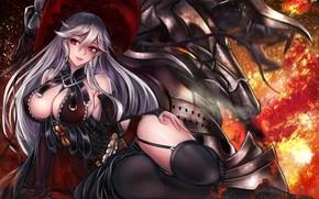 Картинка девушка, аниме, арт, granblue fantasy, magisa