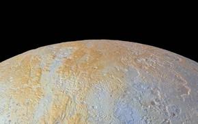Обои планета, Плутон, Солнечная Система, Северный Полюс