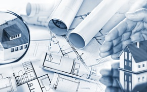 Обои design, architecture, machinery, Construction, engineering, housing, plans, projects, hans, soil movement