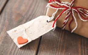 Картинка love, heart, romantic, gift, valentine`s day