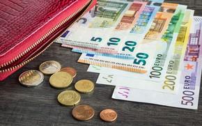 Картинка Euro, money, coins