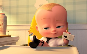 Картинка boss, baby, animated film, official wallpaper, animated movie, Alec Baldwin, The Boos Baby