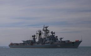 Картинка корабль, Сметливый, Черноморский Флот, сторожевой, проект 61