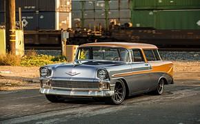 Обои Wheels, Forgeline, Nomad, Dropkick, Chevrolet