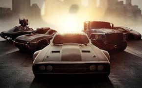 Обои cinema, film, .50, The Fate of the Furious, The Fast and the Furious 8, machine ...