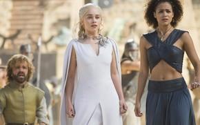 Обои Emilia Clarke, персонажи, актёры, Эмилия Кларк, Game of Thrones, Игра Престолов