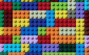 Картинка кубики, цвет, форма, lego