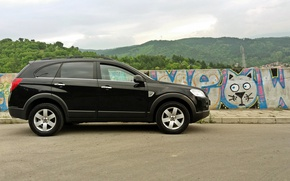 Картинка Chevrolet, Graffiti, suv, AWD, Captiva