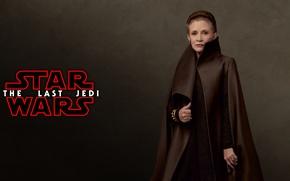 Картинка Star Wars, fantasy, woman, science fiction, movie, Jedi, film, actress, Leia, sci fi, Princess Leia, ...