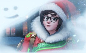 Картинка Game, Blizzard Entertainment, Mei, Overwatch