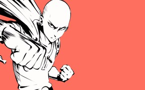 Картинка art, punch, saitama, one punch man