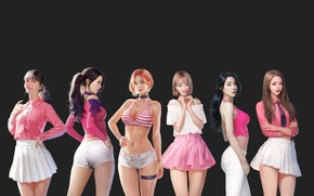 Картинка девушка, настроение, арт, азиатка, J.Won Han, berry good