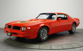 Картинка Orange, 1976, Trans Am, Pontiac Firebird, Muscle classic