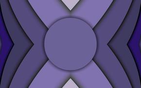 Картинка круг, фигуры, слои, симметрия, viter59
