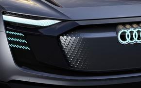 Картинка car, Audi, logo, Audi Sportback Etron