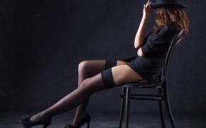 Картинка legs, hat, model, pose