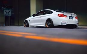 Картинка BMW, white, F82, BMW M4, Versus DTLA