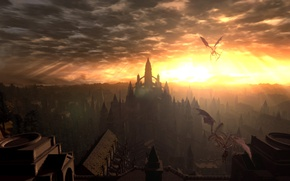 Картинка from software, DARK SOULS Prepare To Die Edition, Anor Londo