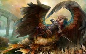 Картинка angel, men, female, Dragon's Crown