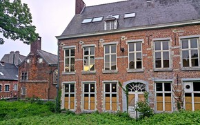 Картинка City, House, Nature, Beautiful, Landscape, view, Old, Belgium, Building, Town, Belgian, Abandoned, Architectural, Brabant Wallon, …