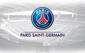 Картинка wallpaper, sport, logo, football, Paris Saint-Germain
