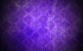 Картинка фиолетовый, фон, узор, dark, vintage, background, pattern, grunge, purple