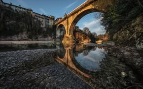 Обои Италия, Italy, Cividale del Friuli, Friuli-Venezia Giulia, DEVIL'S BRIDGE