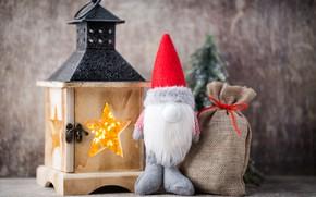 Картинка украшения, игрушки, кукла, Новый Год, Рождество, happy, Christmas, vintage, wood, New Year, Merry Christmas, Xmas, ...